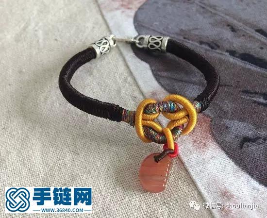 中国结之雀头结手链