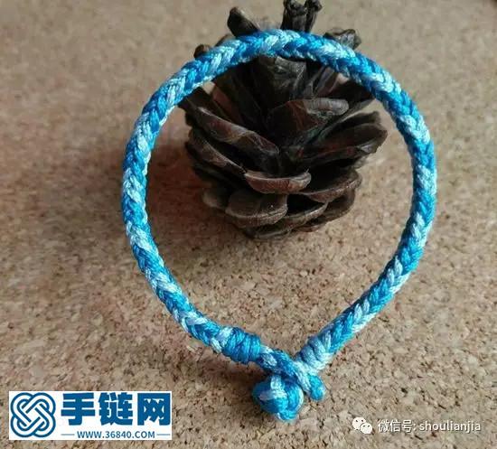 中国结之八股辫手链