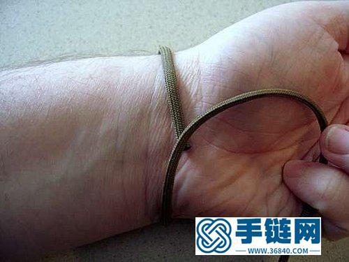 适合男士佩戴的手工编织手链 粗圹又不失精致