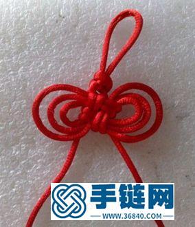中国结之复翼酢浆草结的制作步骤图解