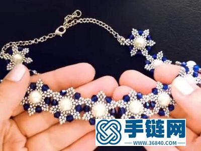 简单DIY串珠服饰_自己动手编一条漂亮的串珠项链