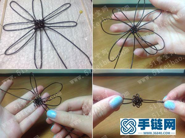 怎么做中国结盘长结绳编戒指