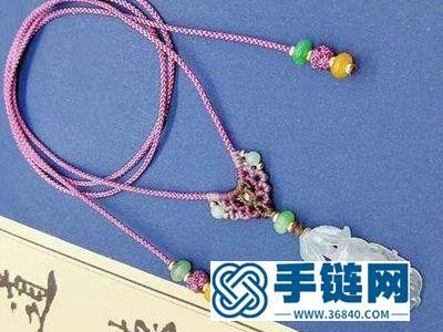 手工编织简单DIY_如何做百搭项链绳