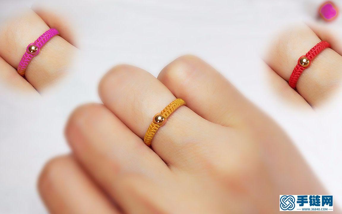 ,你也能学会这款红绳戒指,关键是漂亮
