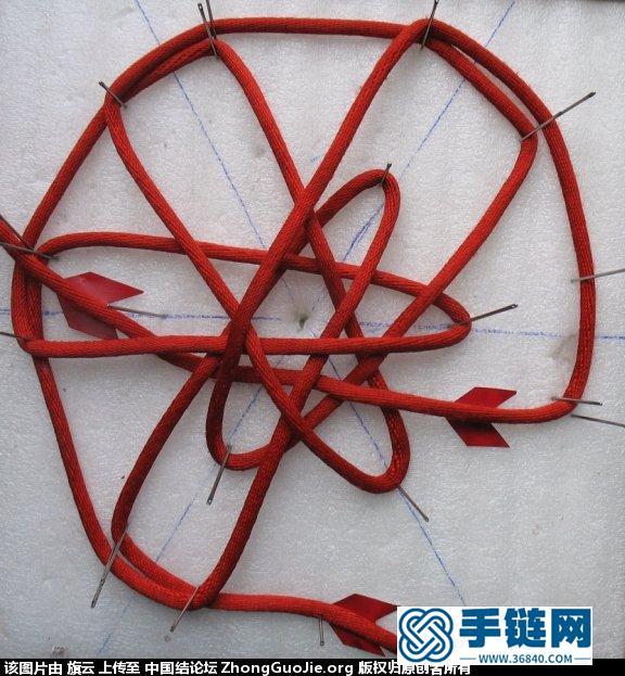 叠翼六瓣锁结