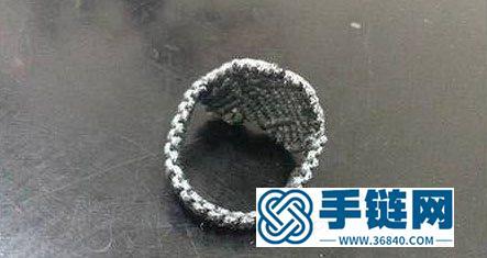 手工编织戒指教程 心形戒指的编织方法
