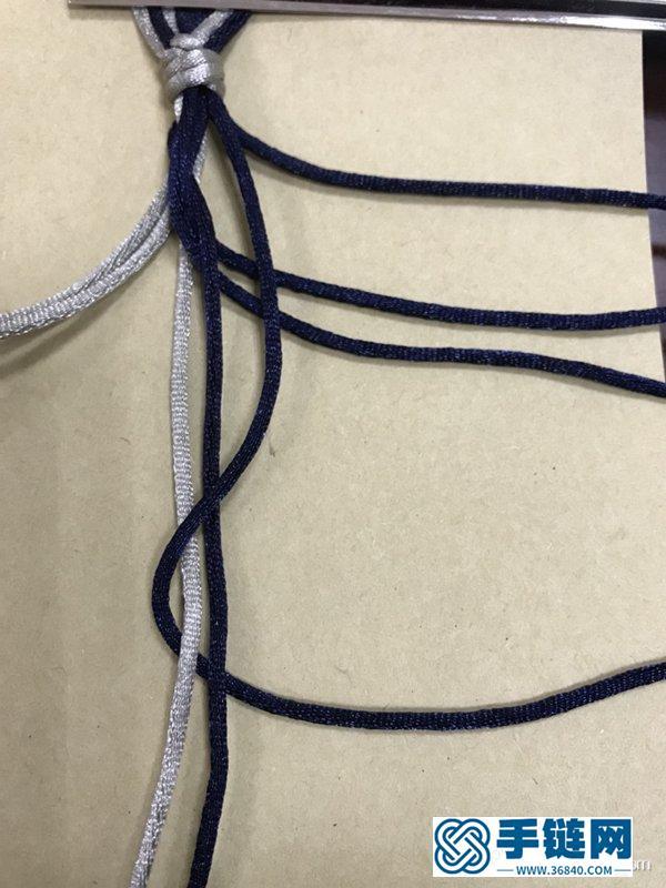 怎样编八股辫 八股辫手绳的编法