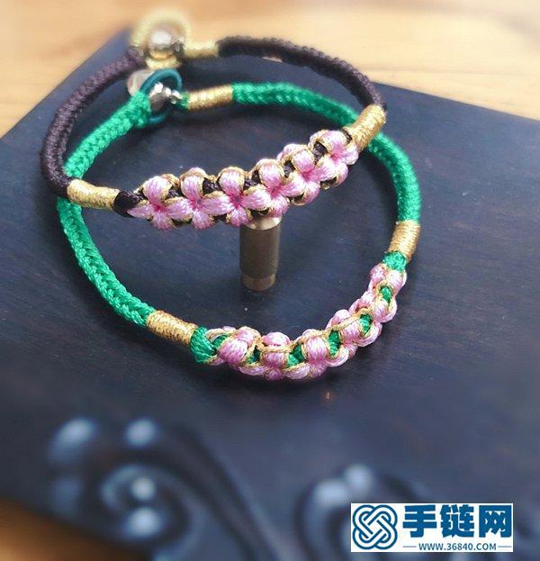 三生三世十里桃花手绳编法