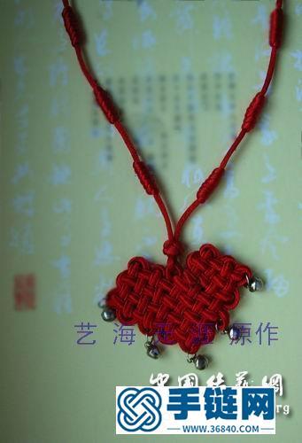 [磬结]儿童项链 及走线图