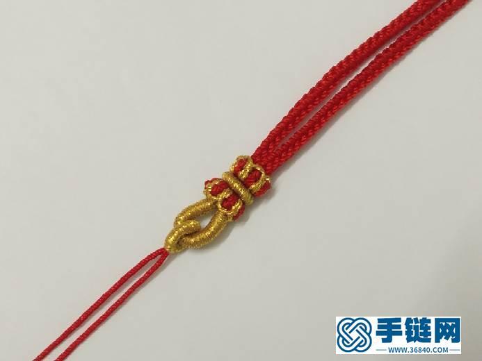 莲花璎珞项绳