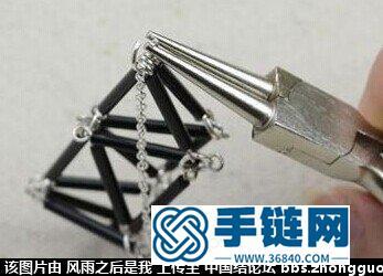 圆珠笔芯制作项链