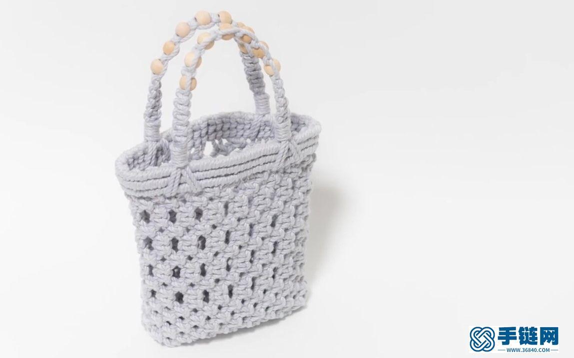 Macrame编织夏日专属时尚便携手提小包
