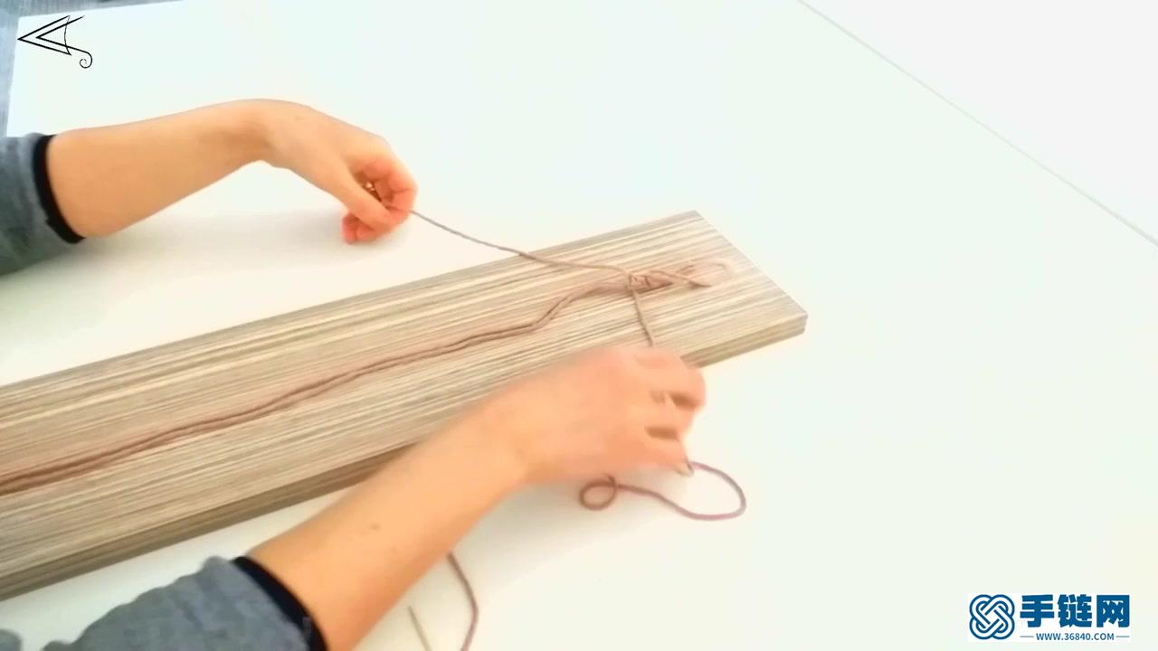 Macrame编织彩色龟背叶装饰