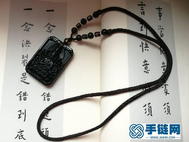 新手璎珞绳+蛇结+六边菠萝结挂绳编绳教程-完整编法步骤