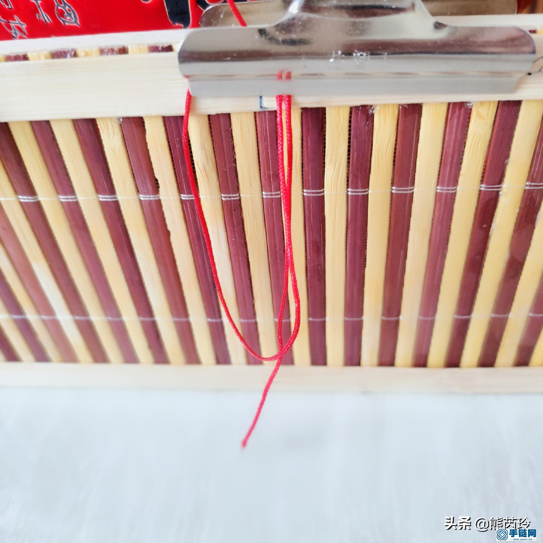 手链平结线圈编法,教你如何做手工编绳璎珞圈
