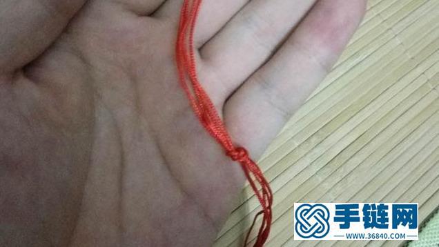 彩虹手链编织教程,详细的制作方法图解